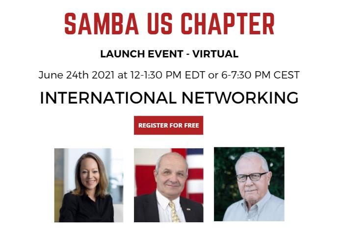 SAMBA US Chapter Launch - International Networking