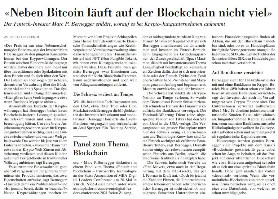 Neben Bitcoin läuft auf der Blockchain nicht viel