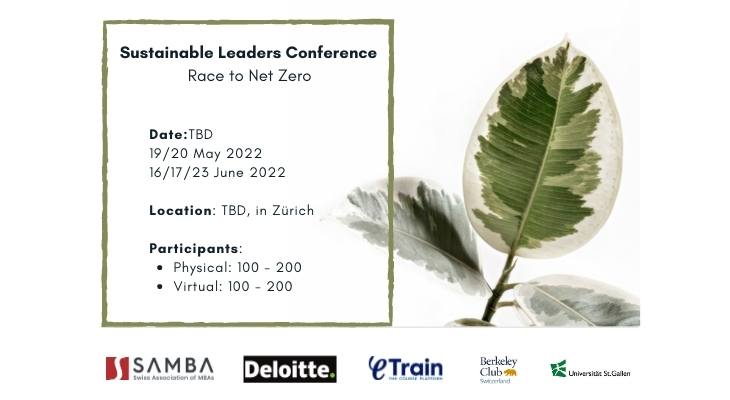Sustainable Leaders Conference 2022